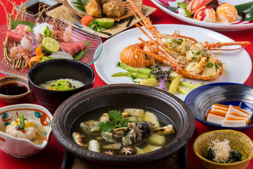 Dining伍乃40 宴会コース料理写真01